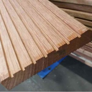 Dekdeel hardhout geschaafd 25x145mm 305cm